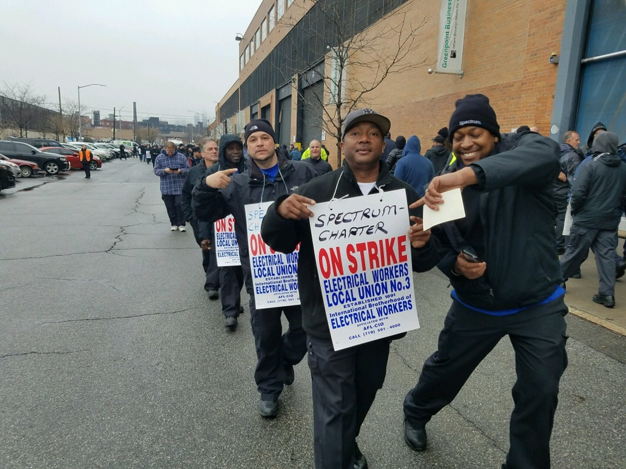 Time Warner Cable (Spectrum) workers striking for three months and